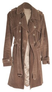 Theory Corduroy Trench Trench Coat
