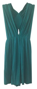 Eight Sixty Cut Out Top Turquoise