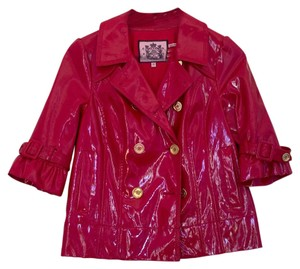 Juicy Couture Raincoat Red Jacket
