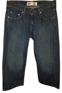 Levi's Capri/Cropped Denim-Medium Wash