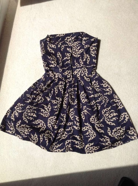 French Connection short dress Strapless Summer With Pockets on Tradesy