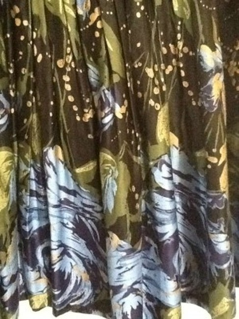 Ann Taylor LOFT Skirt Blue and Green