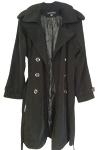 New York & Company Belted Classic Trench Coat
