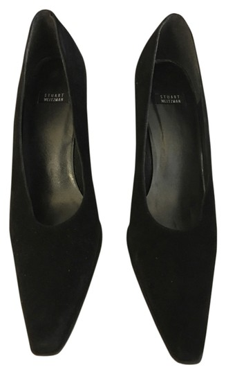 Preload https://img-static.tradesy.com/item/15068251/stuart-weitzman-black-suede-3-inch-heel-pumps-size-us-8-narrow-aa-n-0-1-540-540.jpg