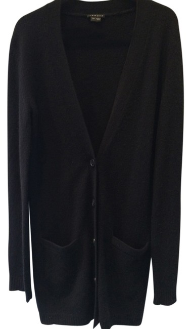 Preload https://item3.tradesy.com/images/theory-black-long-cashmere-cardigan-sweaterpullover-size-6-s-1506852-0-0.jpg?width=400&height=650