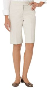 Jones New York Cotton/spandex Bermuda Shorts white