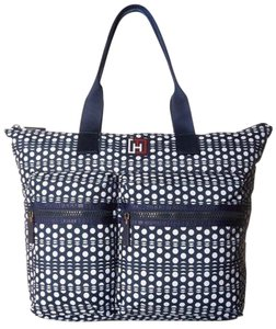 Tommy Hilfiger Sport Tote in Navy/White