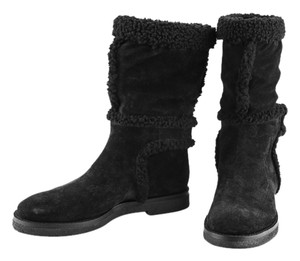 Louis Vuitton Half black Boots