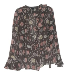 Lane Bryant Top Multi-Color