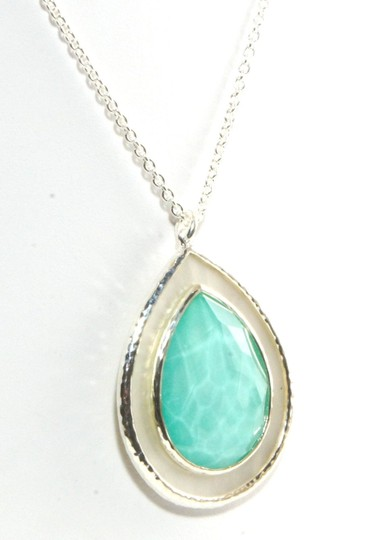 Ippolita IPPOLITA STERLING SILVER TURQUOISE DOUBLET MOTHER OF PEARL NECKLACE Image 1