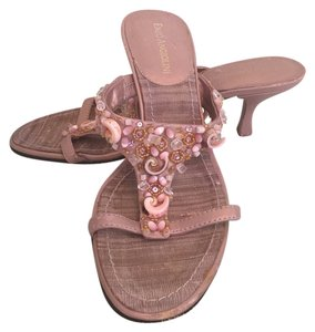 Enzo Angiolini Dusty Rose Sandals