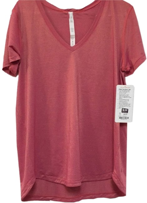 Item - Heathered Jewelled Magenta/Gold What-the-sport Activewear Top Size 12 (L, 32, 33)