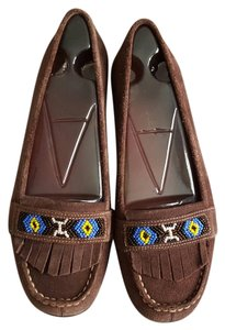 Aerosoles Moccasin Beaded Summer Loafers Flats