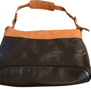 Buxton Brown Messenger Bag