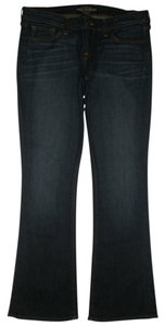Lucky Brand 5 Pocket Style Zip Fly Style: 7w11284 Cut: 101913 11 Boot Cut Jeans-Dark Rinse