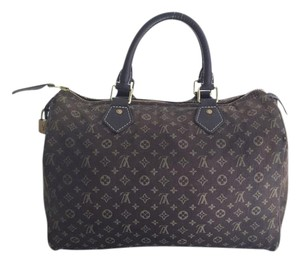 Louis Vuitton Neverfull Eva Keepall Classic Satchel in Monogram Mini Lin
