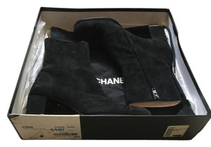 Chanel Saks Fifth Avenue Black Boots
