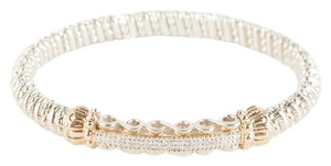 VAHAN Vahan Silver & Gold Bracelet with Diamonds
