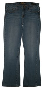 Lucky Brand 5 Pocket Style Zip Fly Cotton/spandex Boot Cut Jeans-Medium Wash