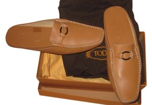 Tod's Sand-colored Mules