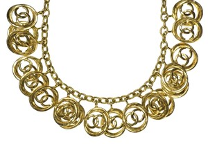 Chanel Chanel Vintage Gold Statement Necklace
