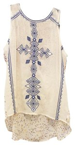 Andree Sheer Tail Detail Cute Adorable Affordable Lace Vintage Victorian Flowy New Pattern Art Wearable Art Geometric Deal Top Embroidered and Print