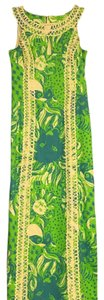 Green & Blue Maxi Dress by Lilly Pulitzer