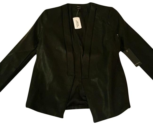 Preload https://img-static.tradesy.com/item/15074884/forever-21-faux-leather-fitted-blazer-size-4-s-0-5-650-650.jpg