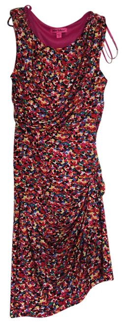 Item - Multicolor Sleeveless Mid-length Night Out Dress Size 10 (M)