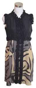 M Missoni Silk Sleevess Dress