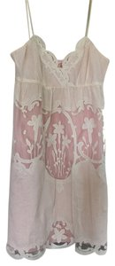 Betsey Johnson short dress Blush and cream on Tradesy