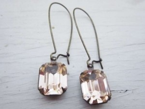 Other Bridal Earrings - Peach Blush