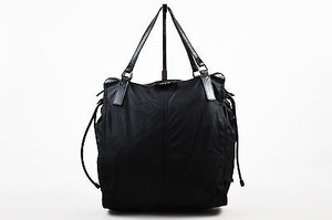 Burberry Nylon Tote in Black