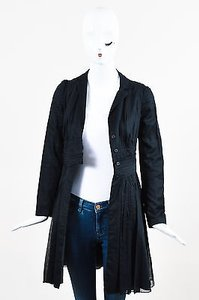 Prada Cotton Pleated Black Jacket