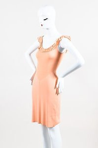 Moschino short dress Orange Cheap And Chic on Tradesy