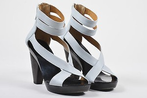 Givenchy Light Leather Gray Sandals