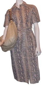 Newport News short dress Blk/Taupe on Tradesy