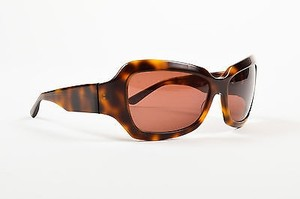 Oliver Peoples Oliver Peoples Brown Tortoise Shell Oversized Athena Sunglasses