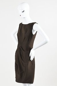 J. Mendel J Wool Pleated Dress