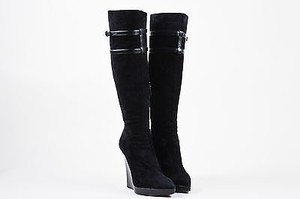 Reed Krakoff Suede Black Boots