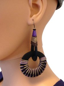 Other Purple and Black earrings