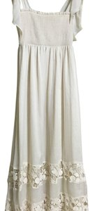 Cream Maxi Dress by BouBou