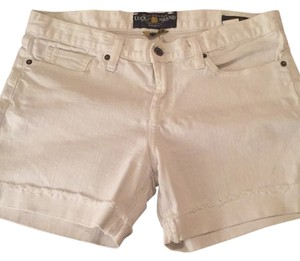 Lucky Brand Cuffed Shorts White