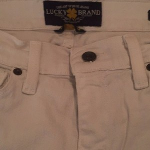 Lucky Brand Boot Cut Pants White