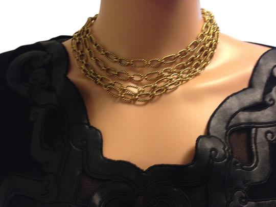 Preload https://img-static.tradesy.com/item/15077809/gold-textured-chains-necklace-0-1-540-540.jpg