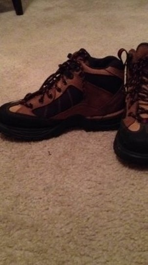 Danner Hiking Leather Gore-tex Tan and black Athletic