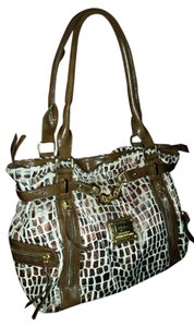 Diane Gilman Satchel in Beige and brown