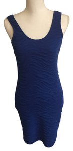 Body Central short dress Blue on Tradesy