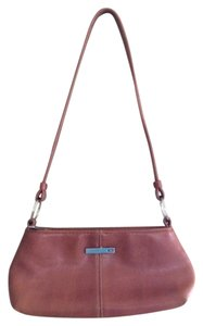 Candie's Brown Leather Shoulder Bag