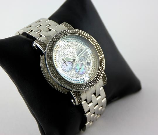 CA Links CA Links GTS Multicolor Rhinestone Accent Watch 44mm Image 3